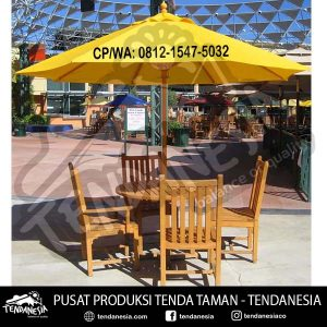 tenda outdoor taman