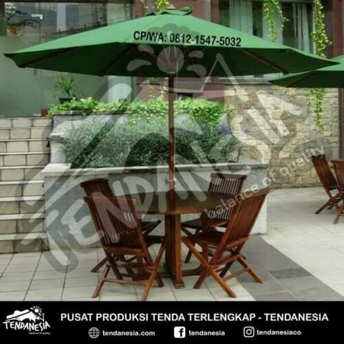 payung outdoor tenda