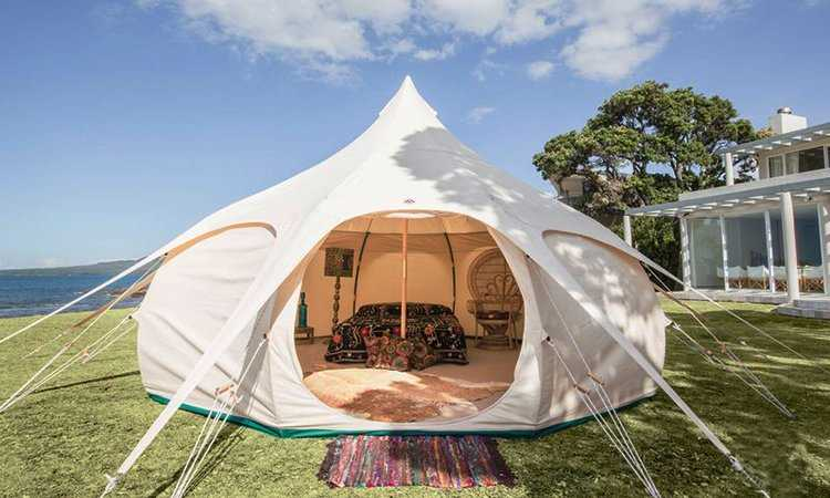 dome camping